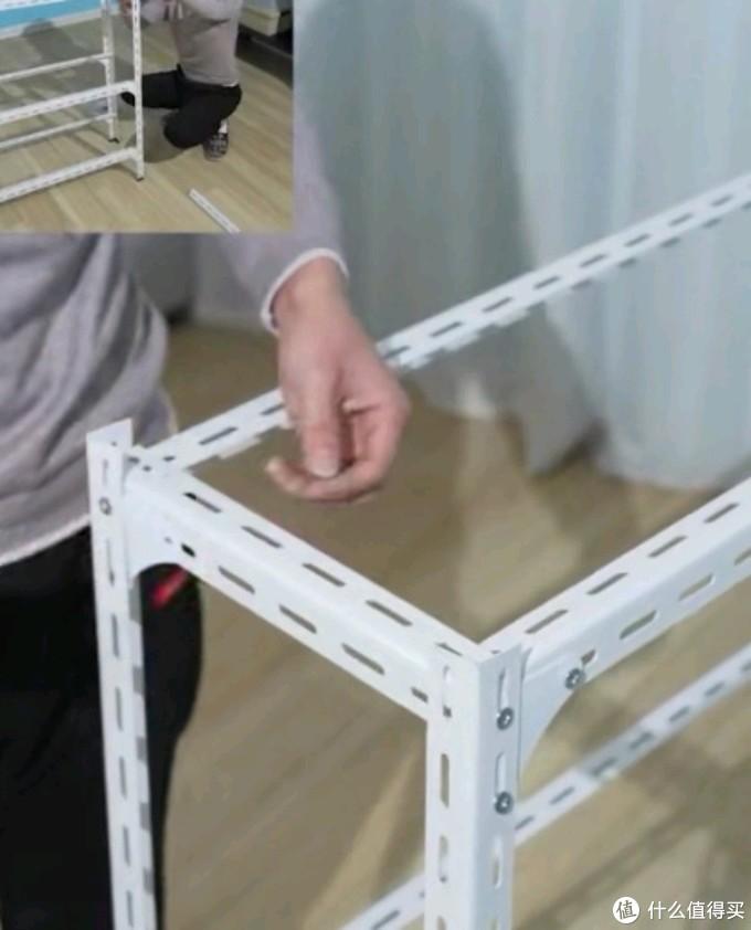 60元DIY角钢铁艺置物架