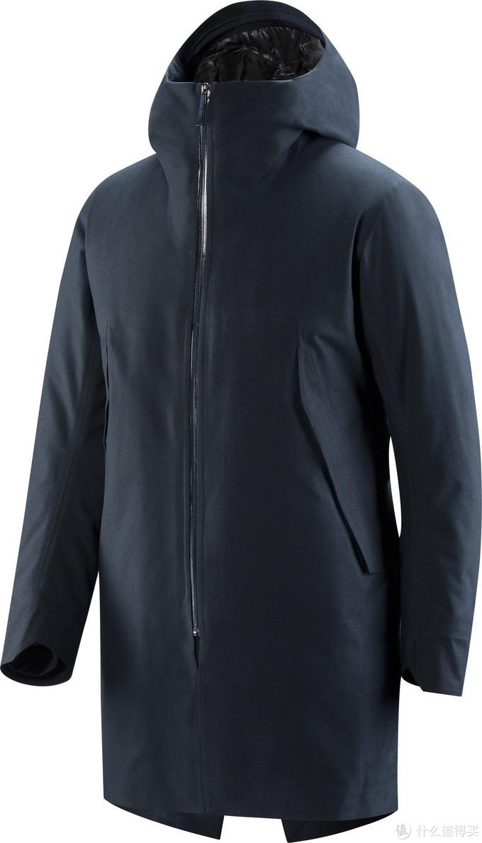 Monitor Down Coat买的黑色XL已经无货,上的是蓝色的官网图
