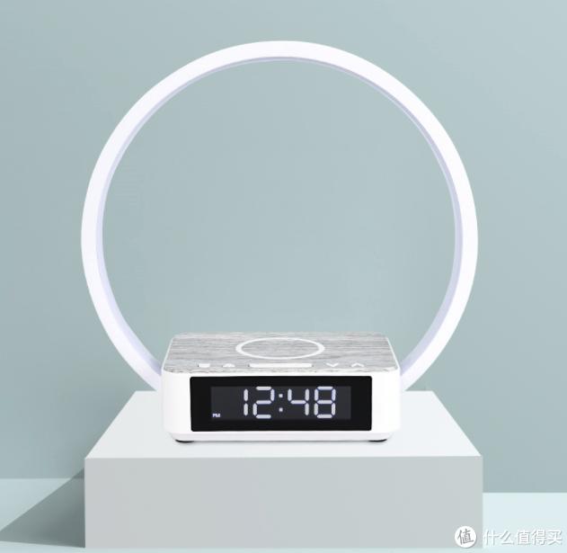 小米有品上线手机无线快充时钟床头灯,一物全能,买它!