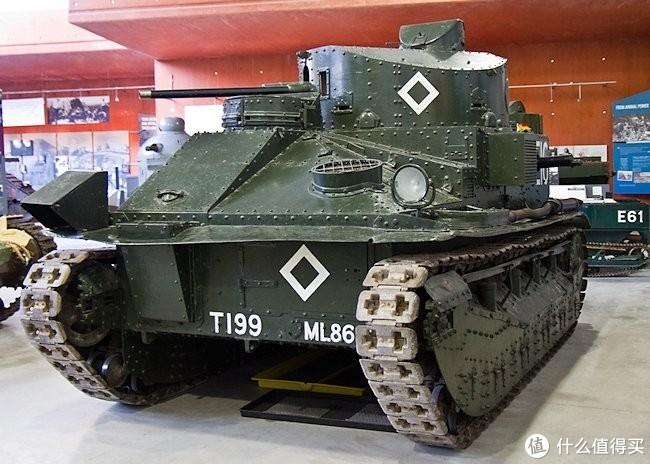 中型坦克二型(Medium Tank Mk.II),现存于博文顿坦克博物馆