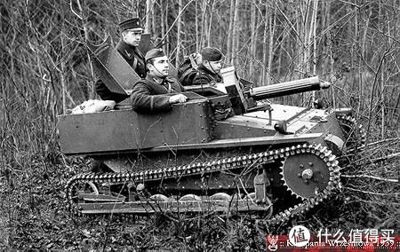 超轻型坦克六型(Tankette Mk.VI),装备最多,应用最广泛的一款超轻型坦克