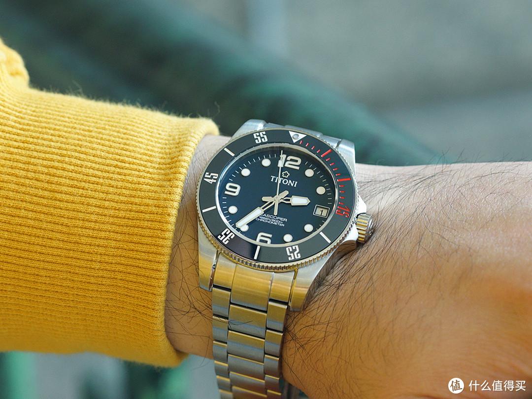 不一样的梅花表——深潜Seascoper 600米机械表