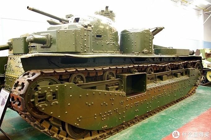 A1E1 Independent 独立号重型坦克,现存于博文顿坦克博物馆