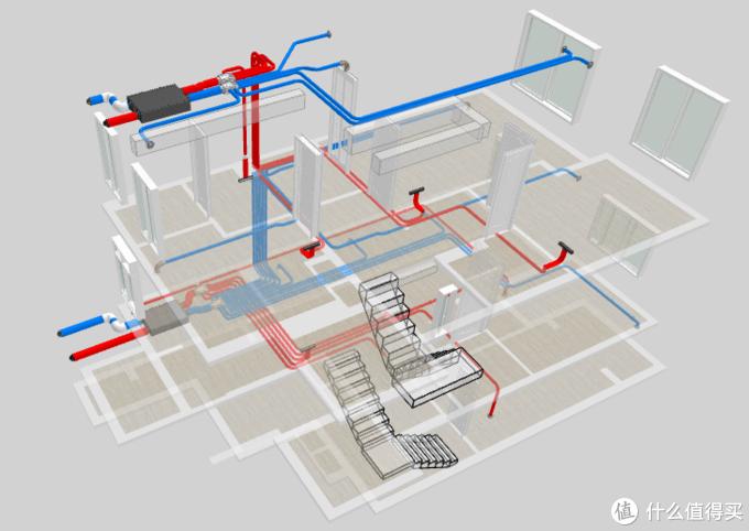 德备新风管道设计图