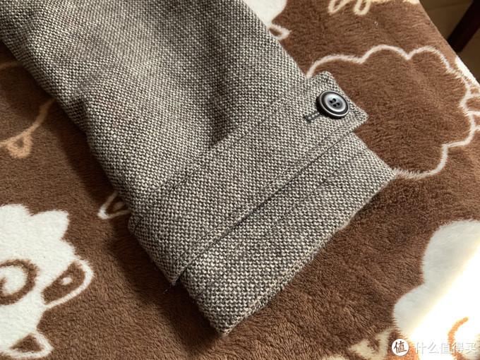 图书馆猿のKenneth Cole New York男士羊毛混纺大衣 简单晒