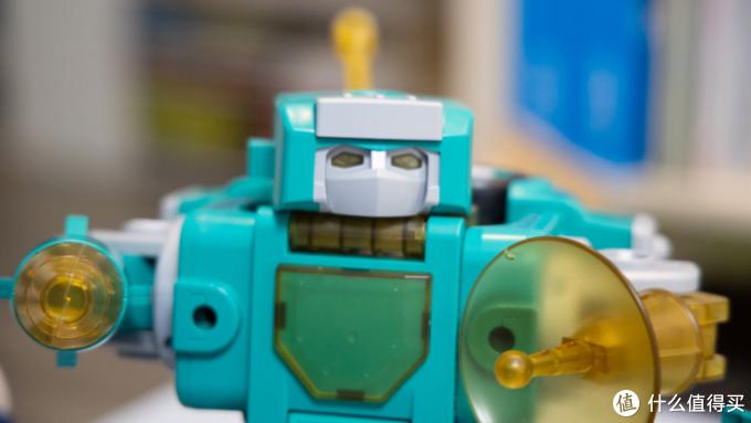 合体的乐趣只有他能懂,EDUBuilder五合一变形机器人拼装体验