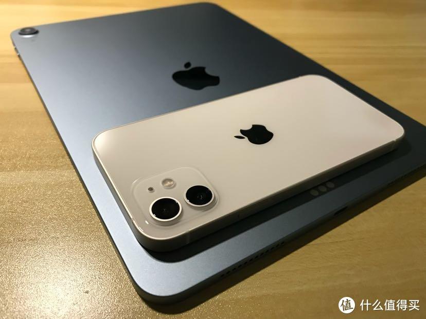 直角边框搭档iPad Air 4 & iPhone 12