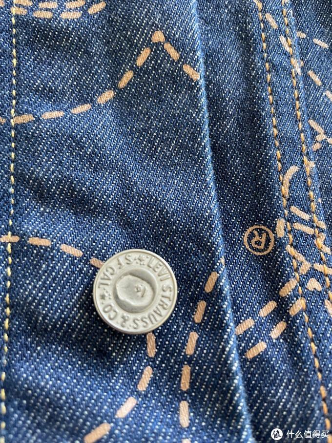 被大妈种的草-Levi's Bape联名牛仔夹克