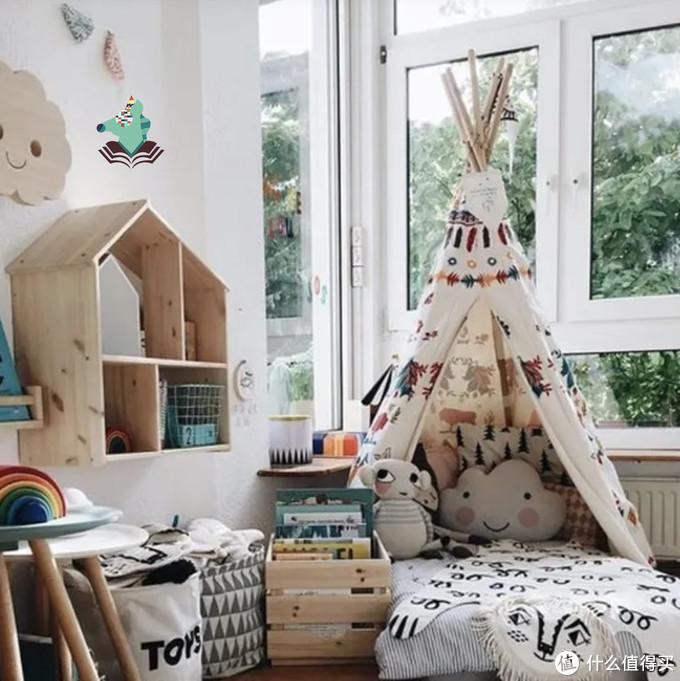 如果家有女宝儿,那么帐篷是必不可少的咯