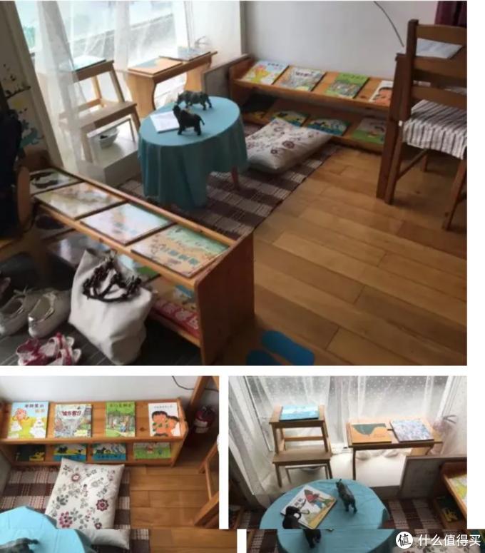 瑞达小马为某家幼儿园设置的阅读角