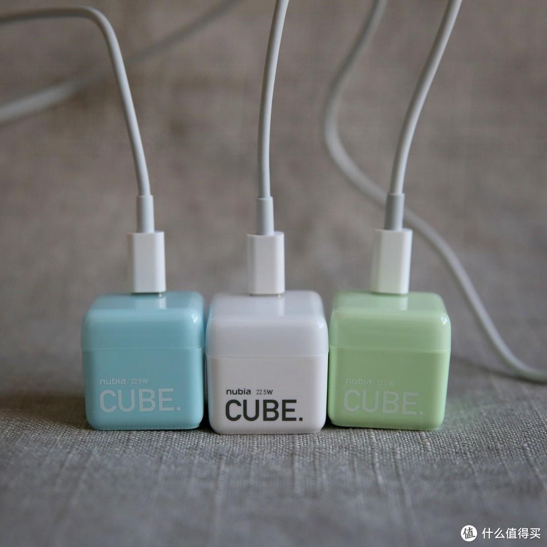 黑科技迷你充电器---努比亚22.5W方糖快充充电器简单试用分享