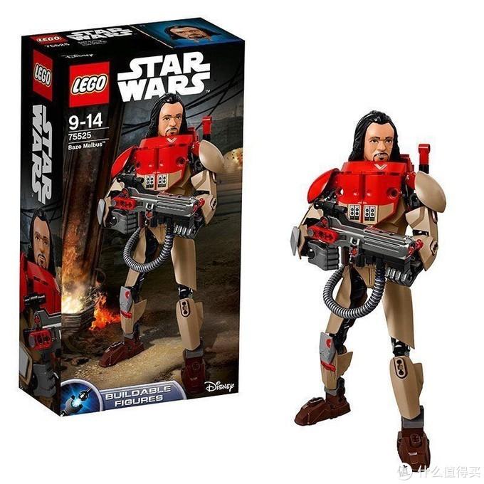 乐高(LEGO)积木星球大战系列-贝兹马尔巴斯—记第一次拼积木玩具