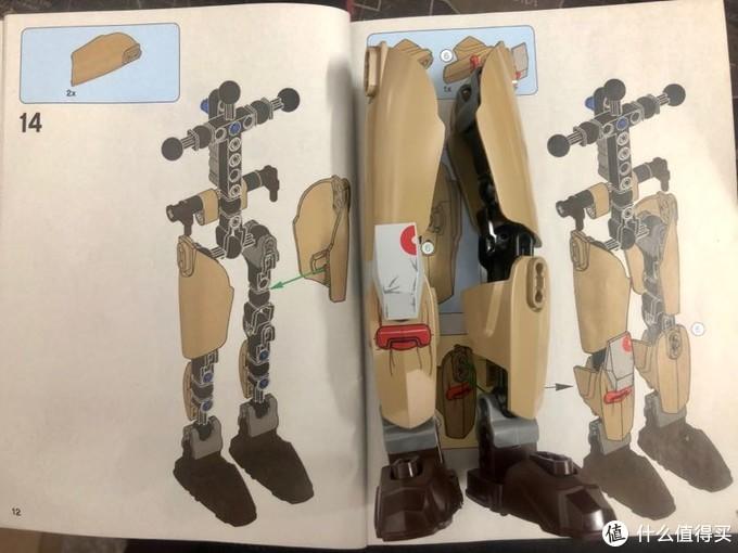 说明书很详细,每个零件都标的很清楚,安装步骤,先把腿给拼起来了