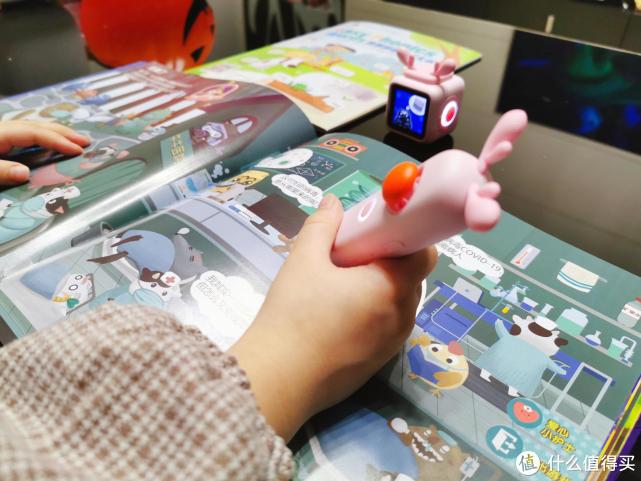 小木百变悟空点读机器人,假期陪娃就这样玩