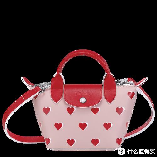 Longchamp法国珑骧推出2021情人节限定包袋,印满爱心的LE PLIAGE好看吗?
