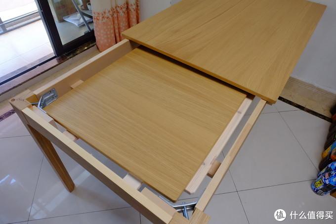 春节换张新餐桌,宜家伊克多兰伸缩型餐桌