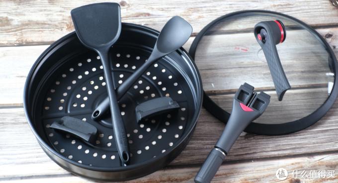 美味食材需烹饪,烹饪食材需要伯朗灵感系列钛钻不粘锅