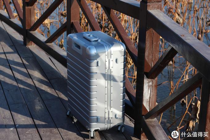 百元行李箱不输千元大牌品质?体验评测悠启多立克轻质铝框旅行箱