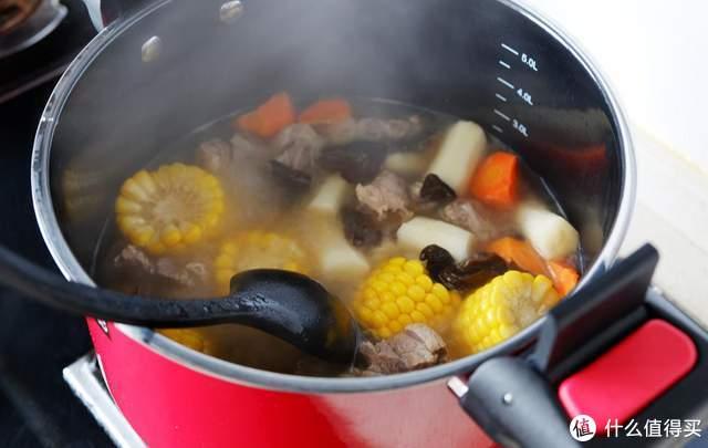 火候微压锅不仅锁住营养,而且可以快速烹饪,孩子特别喜欢吃