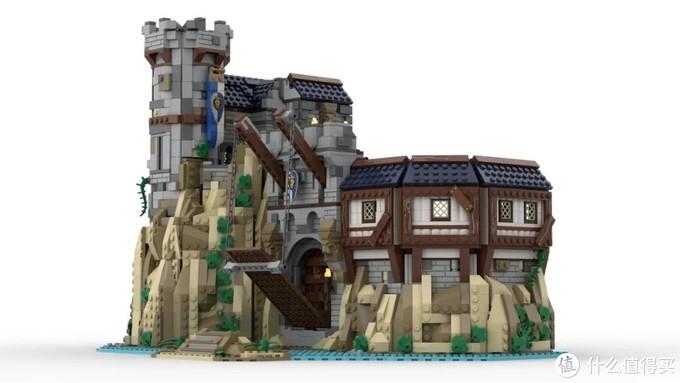 乐高Ideas作品国王的城堡获得10000票支持