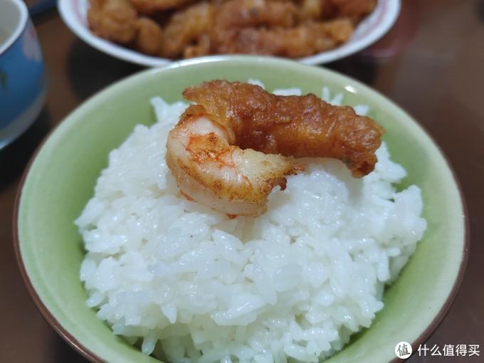 大虾仁的另一种吃法,裹面油炸。