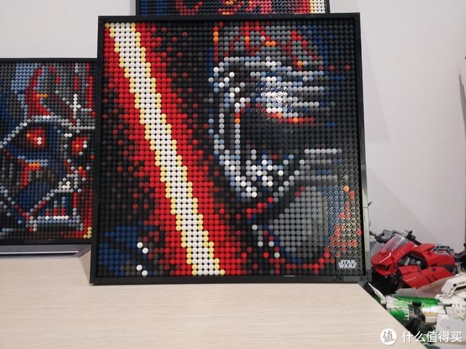 LEGO 马赛克艺术画 31200 星球大战 西斯黑暗尊主