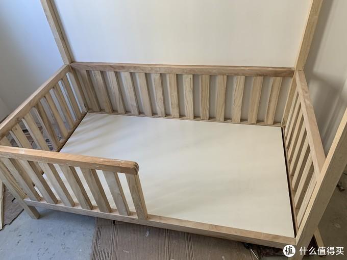 补作业,开局一张图,爷爷给孙子做了张儿童床(下)
