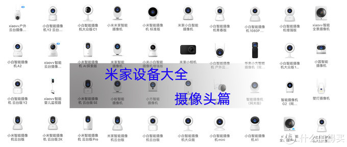 米家智能设备大全——摄像机篇