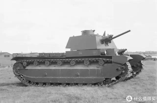 玛蒂尔达2型坦克设计原型:A7E3中型坦克,并没有量产,只有几台试验车