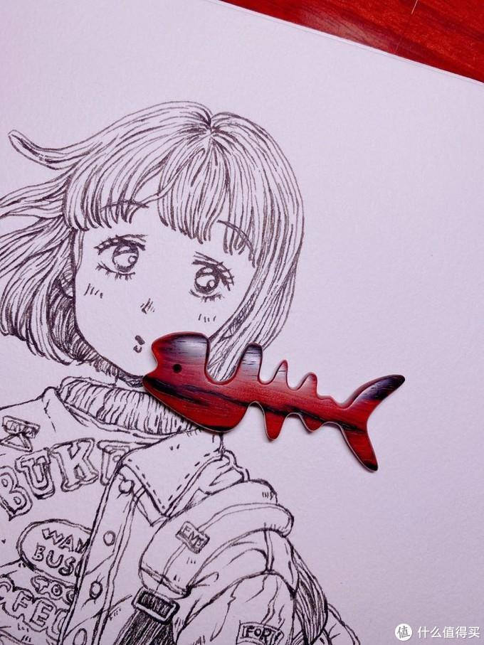 DIY手工艺品(鱼骨)