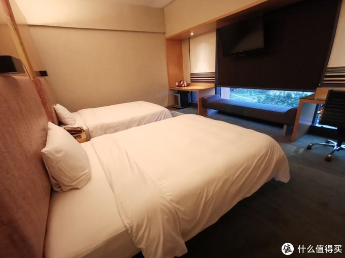 双床房就是这样的了