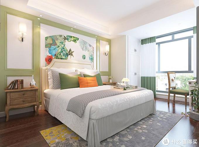 90后女业主新房装修,用绿色做主色调,全屋充满了生机勃勃的活力