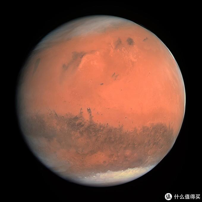 """2007年欧空局""""罗塞塔号""""拍摄的火星照片"""