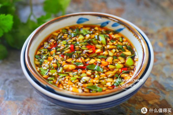 这个万能蘸料,凉拌菜涮火锅吃着都香