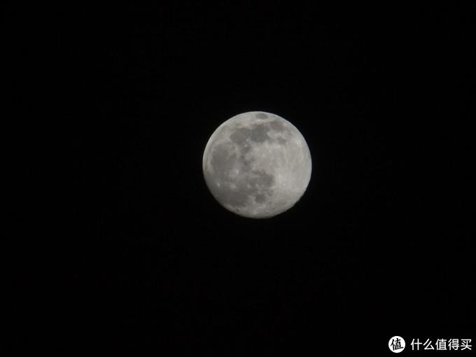 等效436mm的焦段,打月亮