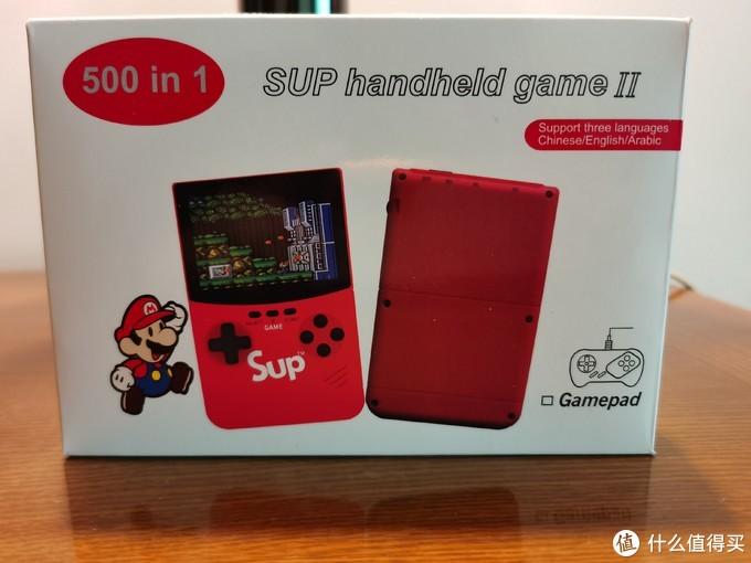 在包装盒左上角,标注了500合一的字样,说明内置了500个游戏