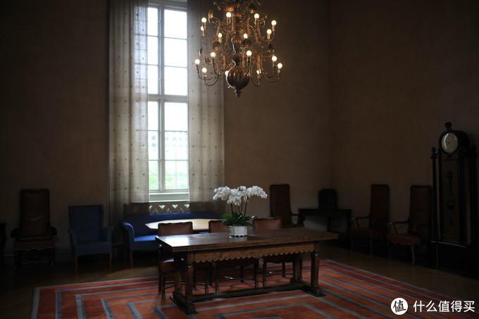 瑞典市政厅某个房间,室内环境