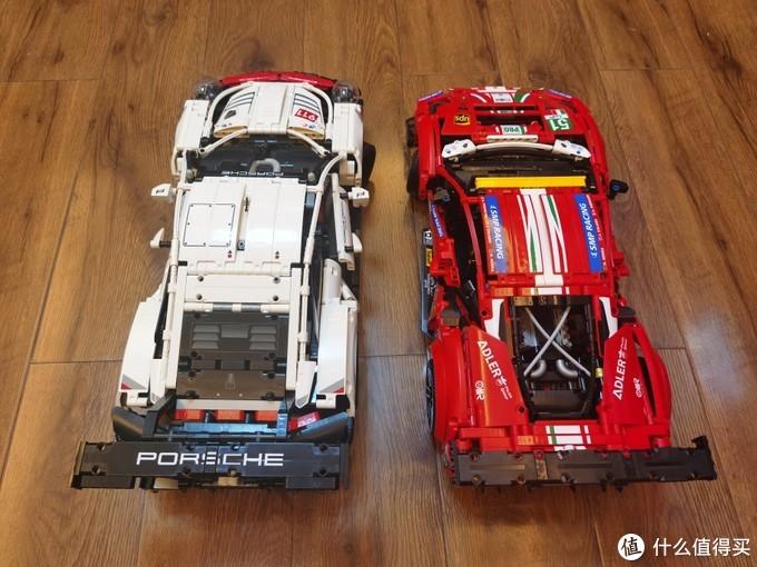 牛年马犇犇~乐高42125,Ferrari 488 GTE