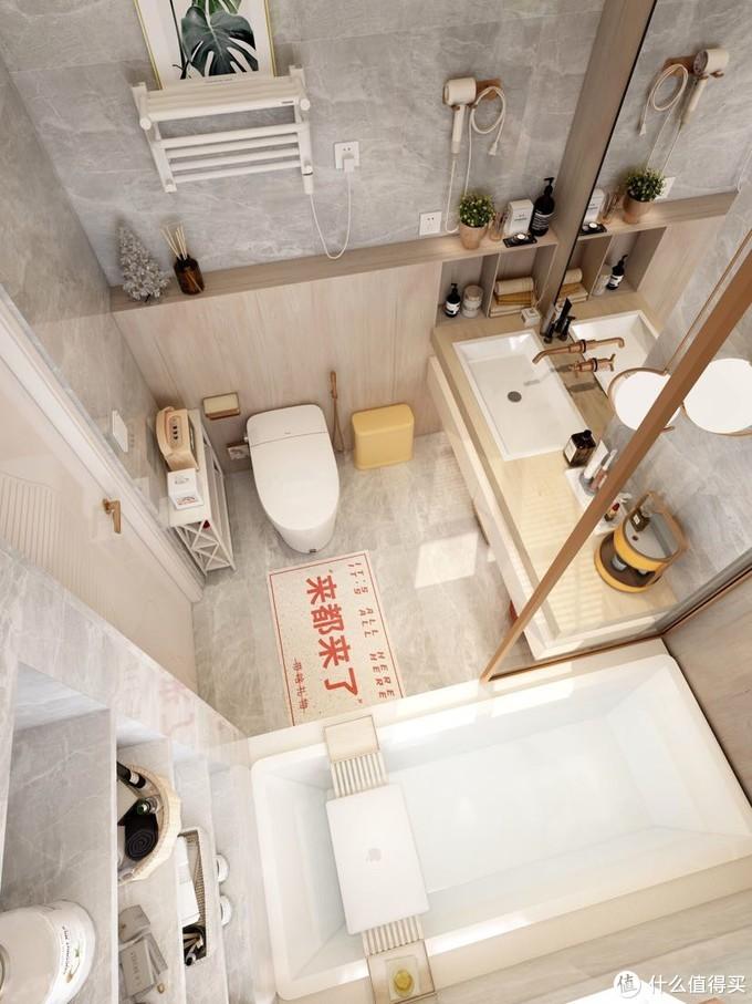 原木风浴室:智能马桶怎么选不踩雷!