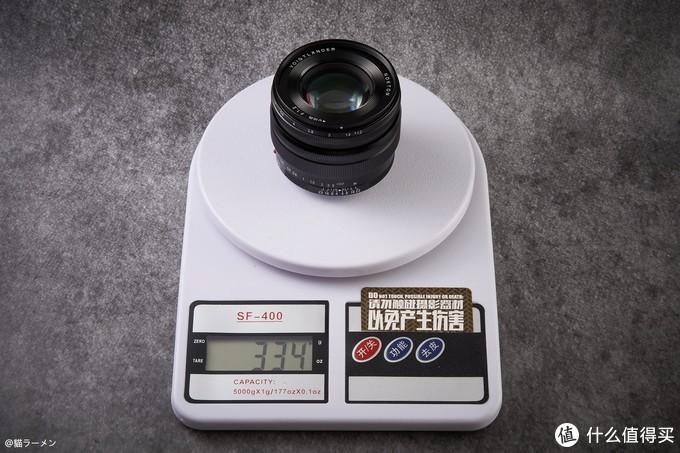 VE40 1.2SE镜头裸重334G