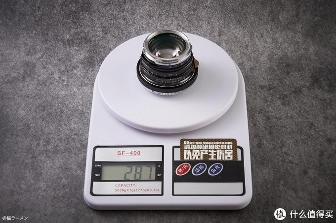 VM40 1.4 + 近摄接圈后 重量也追上来了