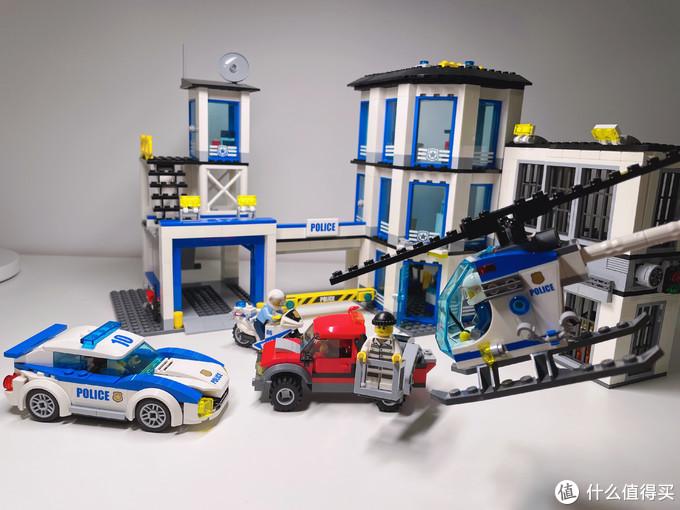 正义必胜——假期畅享乐高城市系列60141警察总局