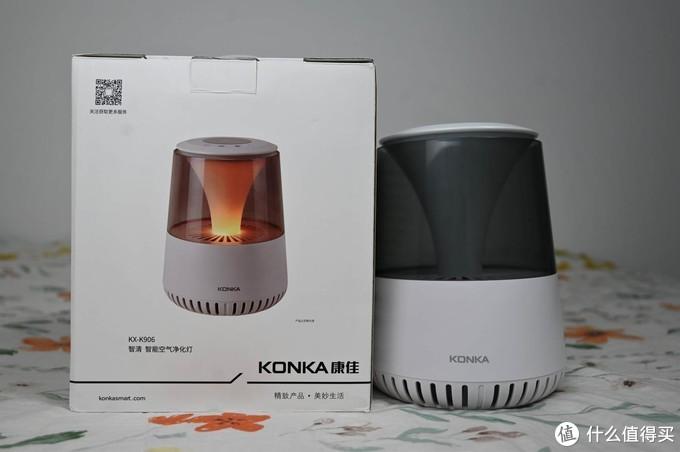 集众多功能于一身的KX-K906康佳智能空气净化灯