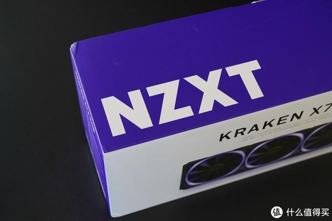白色紫色的外包装显得高档醒目。