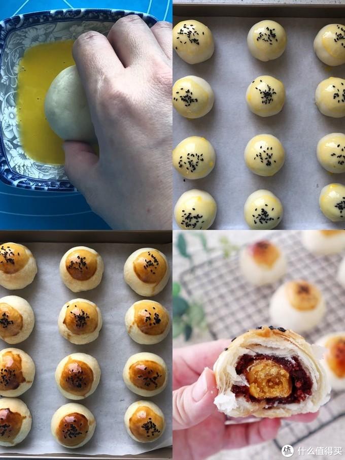 大包酥,巨简单,一次成功做出酥掉渣的蛋黄酥