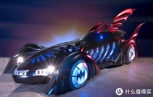 『一杯咖啡钱的快乐』TOMY蝙蝠车1995版,可能是最夸张的蝙蝠侠座驾