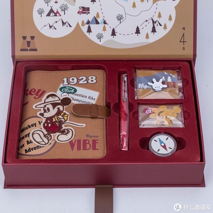 Kinbor迪士尼米奇探险手帐礼盒套装—测评