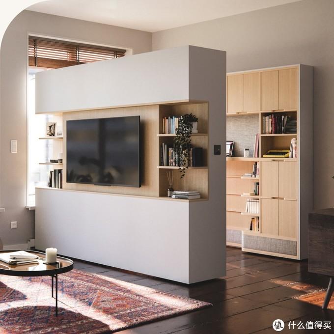 30㎡小屋也能拥有独立衣帽间和书房,这个神仙品牌的家具,让家凭空大一倍!