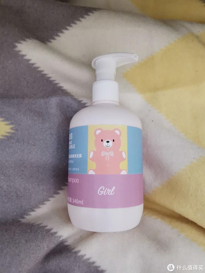 长发小公主必备,3-12岁女童专用氨基酸洗发水!