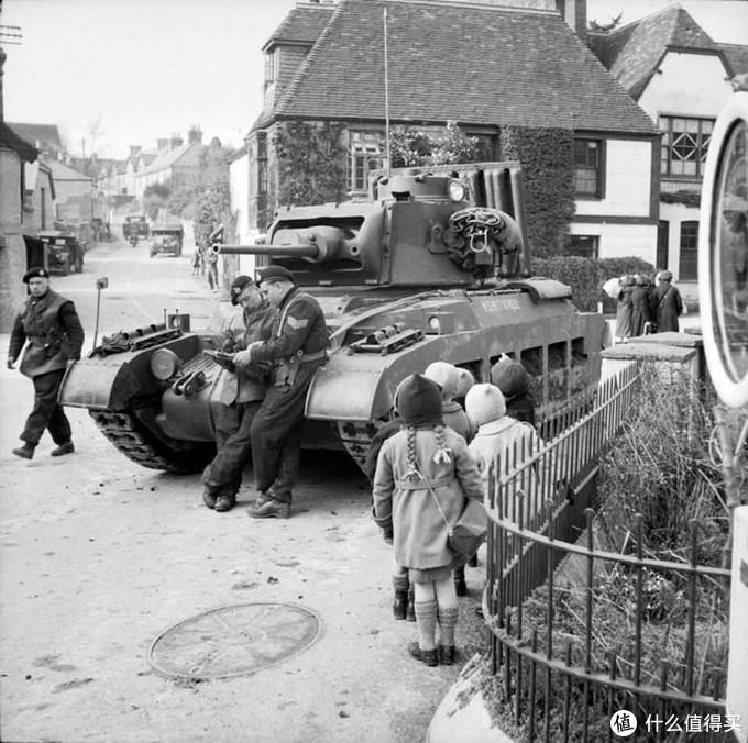演习中的玛蒂尔达2型,1941年,英格兰